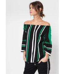 blouse met wijde mouwen