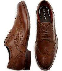 rockport saxxen wingtip dress shoes