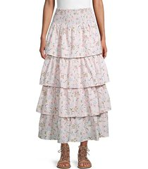 paloma tiered skirt
