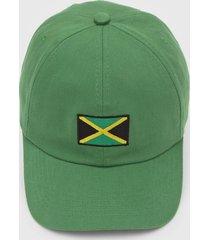 boné kanui dad cap jamaica flag verde - kanui