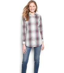 wrinkle-free patterned tunic