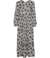 beate maxi dress knälång klänning multi/mönstrad storm & marie