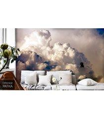 chmury - fototapeta