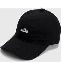 gorra negro-blanco adidas originals sst