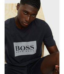 boss fashion t-shirt t-shirts & linnen open blue
