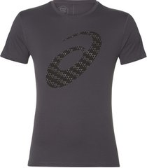 t-shirt korte mouw asics silver graphic ss top 3