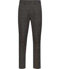 6198734, slim-barro kostymbyxor formella byxor svart solid