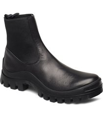 catania vacchetta shoes boots ankle boots ankle boot - flat svart atp atelier