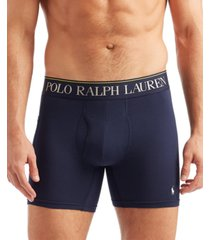 polo ralph lauren men's 4d flex cooling microfiber pocket boxer briefs