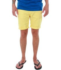korte broek jack & jones 12136647 jjirick jjoriginal shorts knit akm 481 celandine