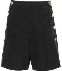 patou iconic wool twill shorts