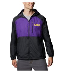 columbia lsu tigers men's flash forward jacket