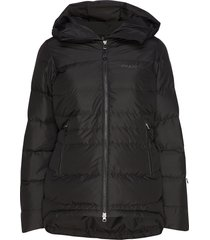 stranda down hybrid w jkt outerwear sport jackets zwart bergans