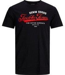 t-shirt jack & jones zwart plus size