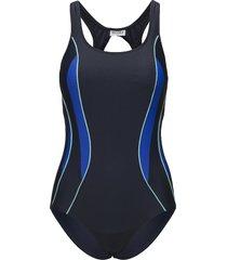 swimsuit alba sport baddräkt badkläder blå wiki