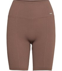 macchiato luxe seamless biker shorts cykelshorts brun aim'n