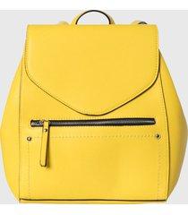 mochila amarillo pieces