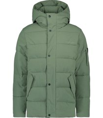 purewhite purewhite quilted padded jacket
