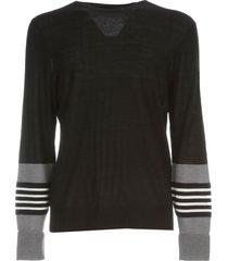 neil barrett wool sweater crew neck