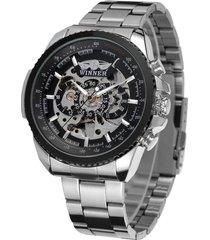 hombres ganador de lujo automático del reloj de wrg8053m4t2