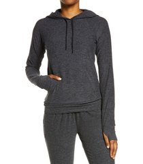 outdoor voices all day hoodie, size x-small in charcoal at nordstrom