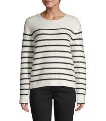stripe long-sleeve sweater