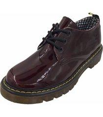 zapato vinotinto villabonr vdm-5039