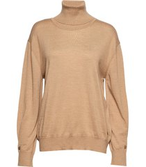 andrea sweater turtleneck coltrui beige busnel