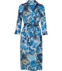 dantanes dresses wrap dresses blå boss