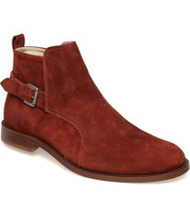 alias classic low jodhpur suede shoes chelsea boots brun royal republiq
