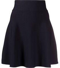 p.a.r.o.s.h. roma a-line skirt - blue
