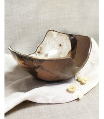 asymetryczna misa kolekcja village ceramiczna