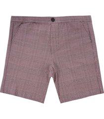 oliver spencer drawstring shorts - kemble pink osmt54a-kem01pin