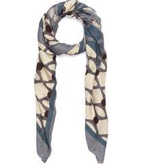 vintage modern shawl - beige/ottanio