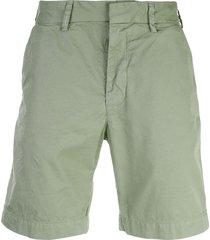 save khaki united twill bermuda shorts - green