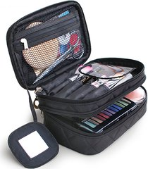beauty case multifunzionale con multi-tasche da viaggio