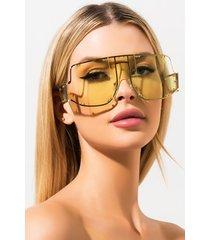 akira sun kissed retro oversized sunglasses
