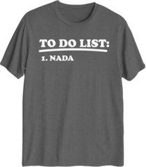 nada men's graphic t-shirt