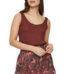 women's vero moda hanna rib sweater tank