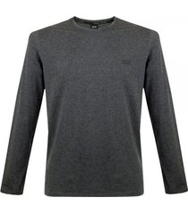 hugo boss black shirt rn ls charcoal t-shirt 50297317