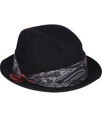 etro scarf detailed hat