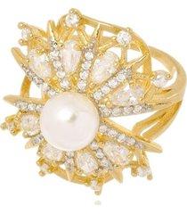 anel boca santa amor eterno - ouro amarelo