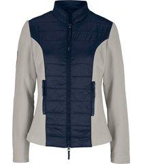 giacca trapuntata con pile (grigio) - bpc bonprix collection