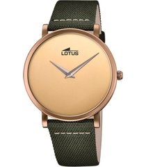 reloj 18782/1 minimalist dorado lotus