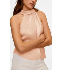 mango women's bow collar top