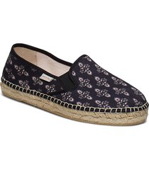 vibrant walker espadrillo sandaletter expadrilles låga svart odd molly