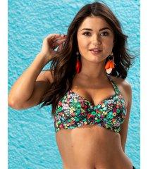 heatwave halter underwire bikini top