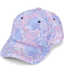 marcus adler women's tie-dye baseball cap - pink blue
