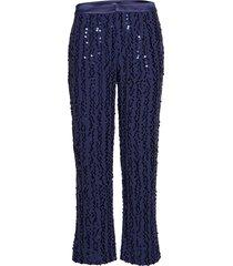 2nd duvall pantalon met rechte pijpen blauw 2ndday