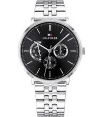 reloj tommy hilfiger 1710373 plateado acero inoxidable